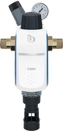 Механический фильтр, ручной обратной промывки для холодной воды с гидромодулем BWT R1